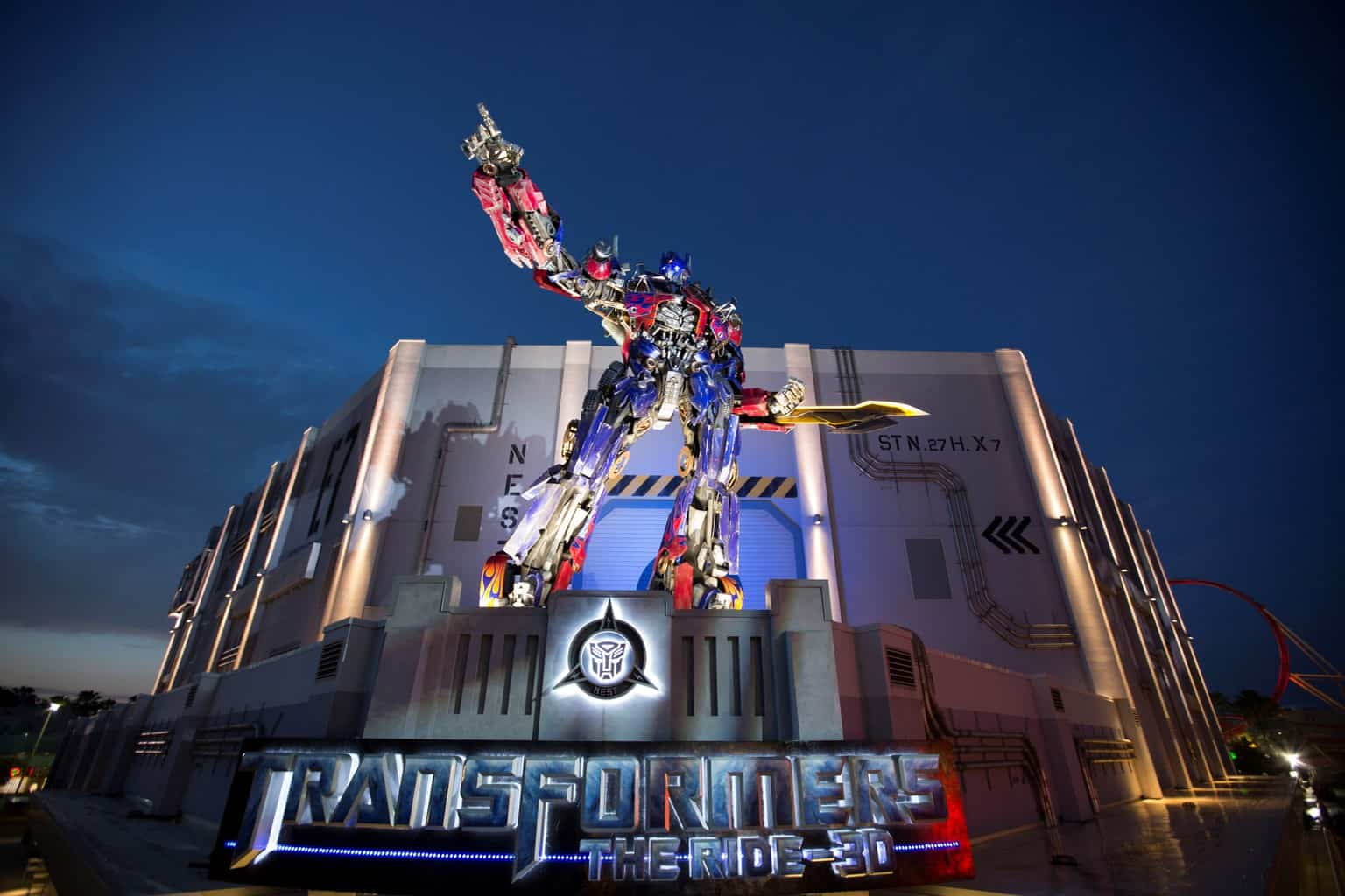 TRANSFORMERS The Ride-3D Reaches One Million Recruitslr