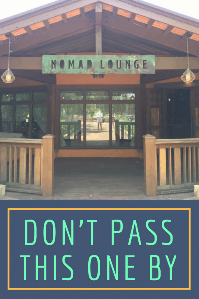 Nomad Lounge Entrance