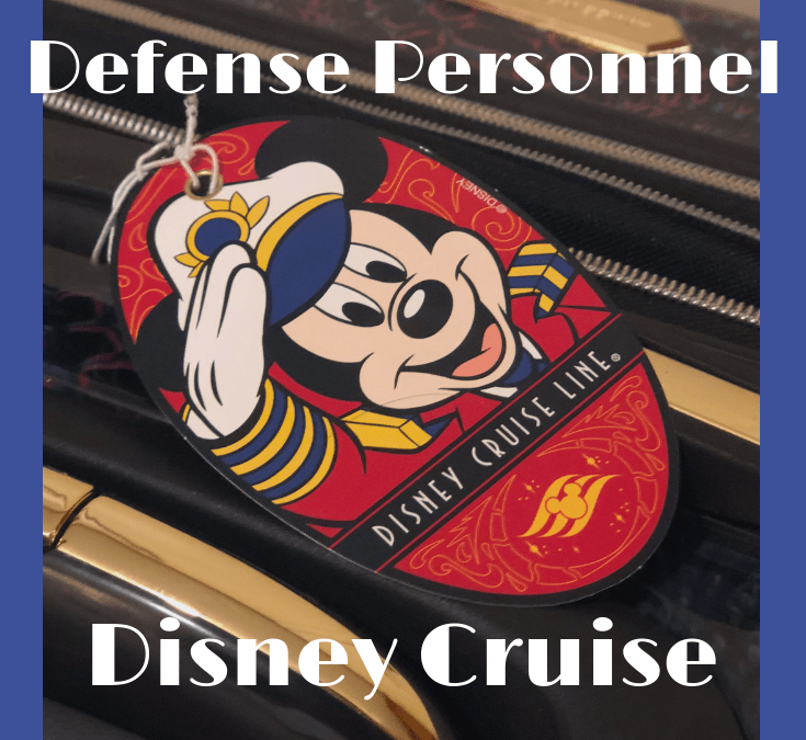 Disney Cruise Line Discount for U.S. Military & DOD Personnel?