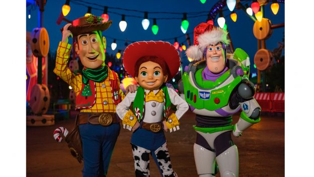 Toy Story Land Dresses up For the Holidays
