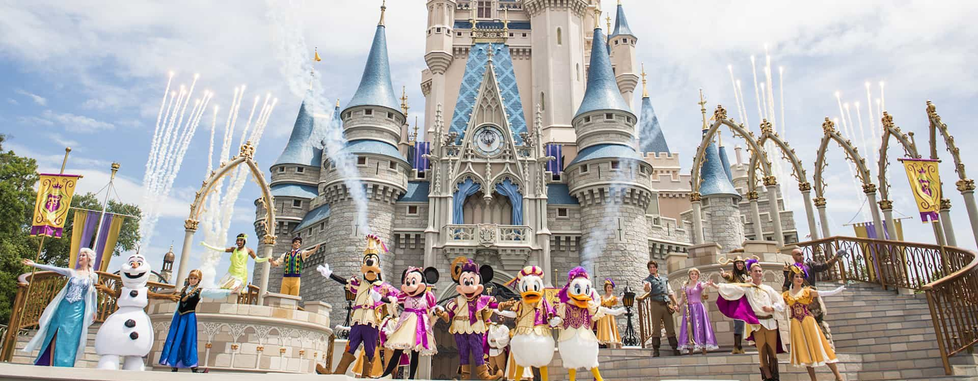 Disney World Castle | Living With The Magic Vacations