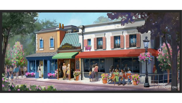 Authentic Crêperie Part of Upcoming France Pavilion Enrichments at Epcot