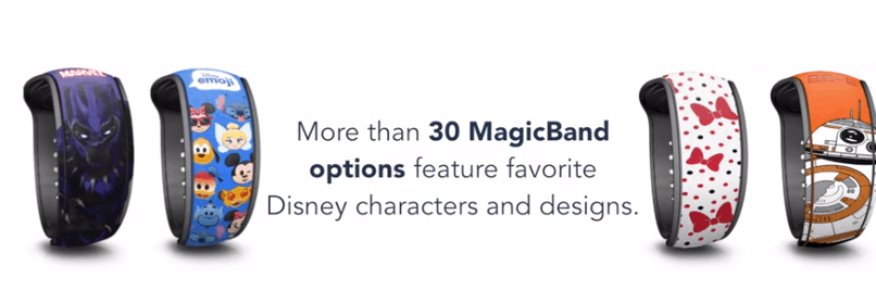 New MagicBand Options Coming Soon at Walt Disney World Resort