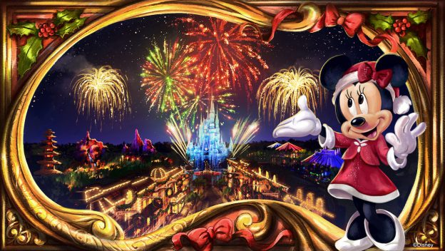 New Holiday Fireworks Show Coming to Mickey's Very Merry Christmas Party at Walt Disney World Resort