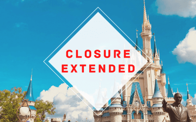 Walt Disney World and Disneyland Closure Extended
