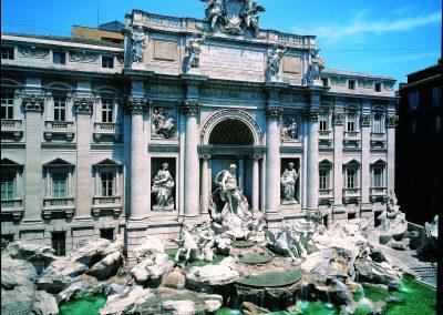 Italy, Rome, Quirinal, Trevi Fountain, (circa 1792)