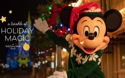 Walt Disney World Resort Holidays Start Nov. 6