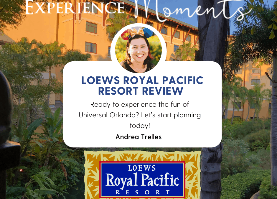 Loews Royal Pacific Resort at Universal Studios Orlando