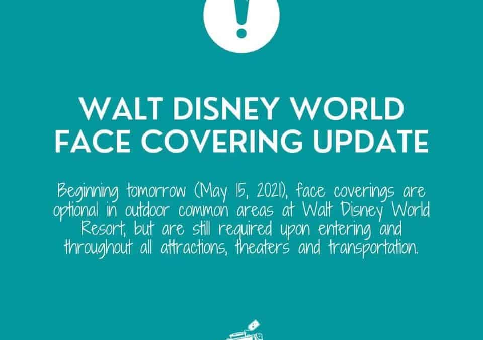 Walt Disney World and Universal Orlando Updated Mask Policies