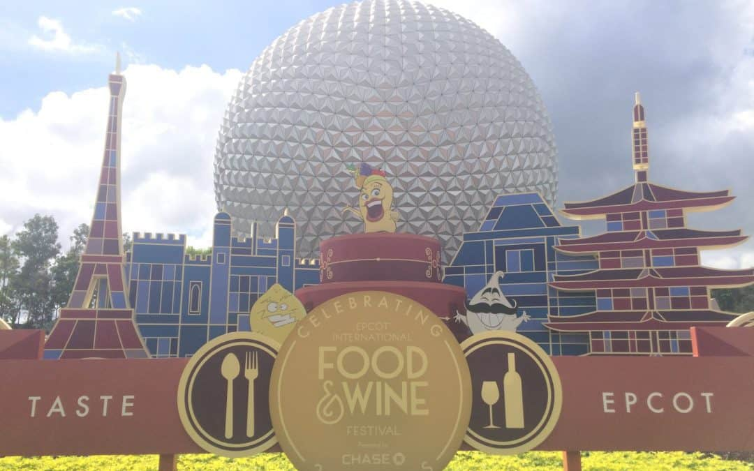 EPCOT Food and Wine Festival Booth Menus