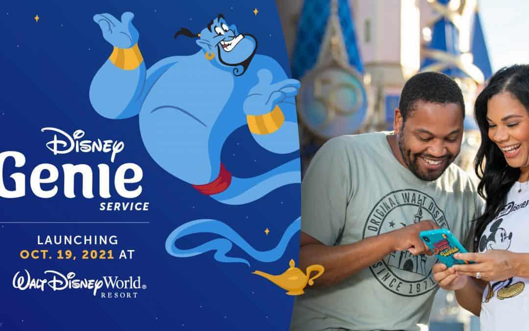 Disney Genie Launching Oct. 19